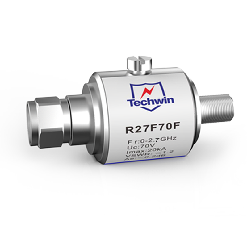 Techwin coaxial GDT protector CATV RF Arrester
