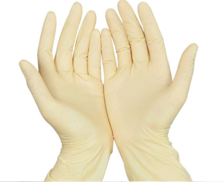Safety Disposable Medical Latex Examination Gloves Surgical Gloves 100  Pieces Per Box