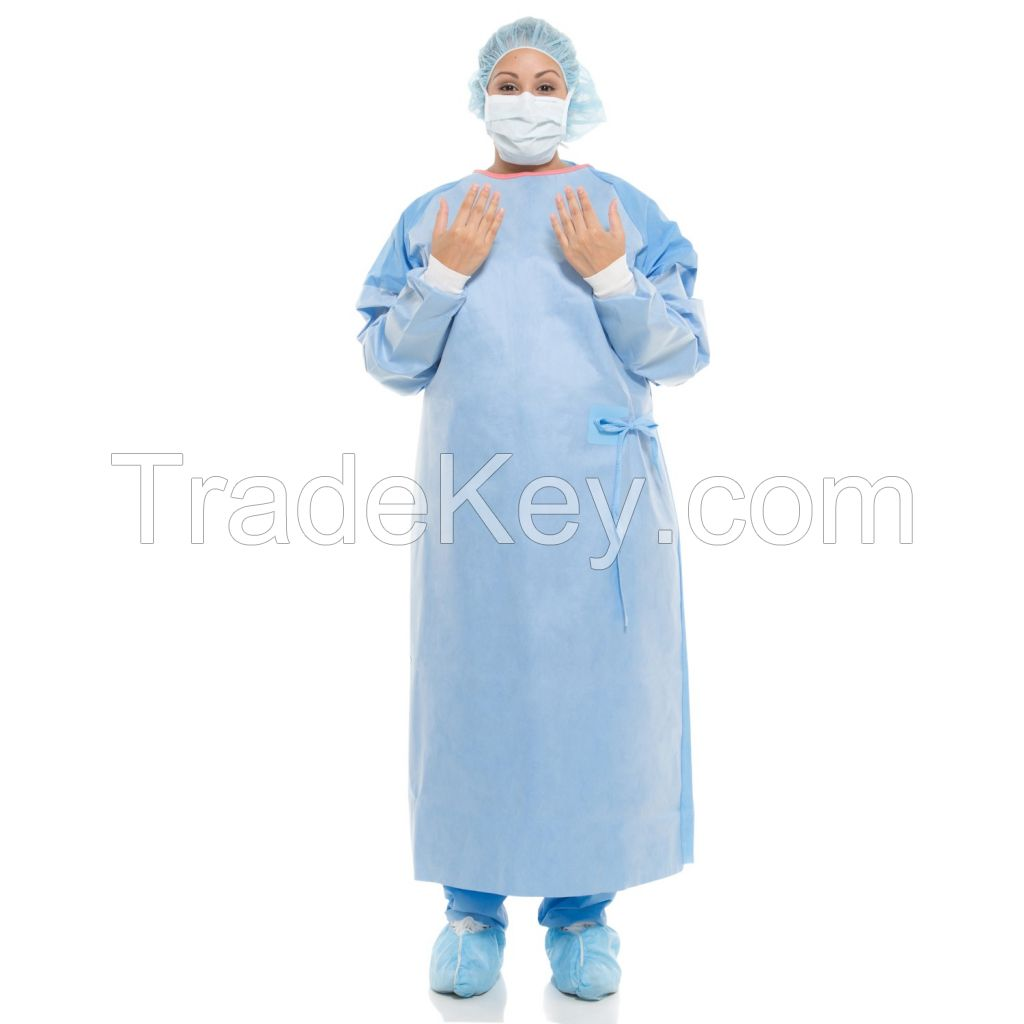 AMMI Level 3/4 Sterile Nonwoven Disposable medical hospital surgical gown