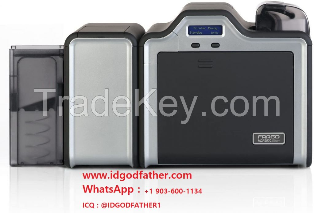 Cheap Fargo HDP5000 ID Card Printer - Dual-Sided