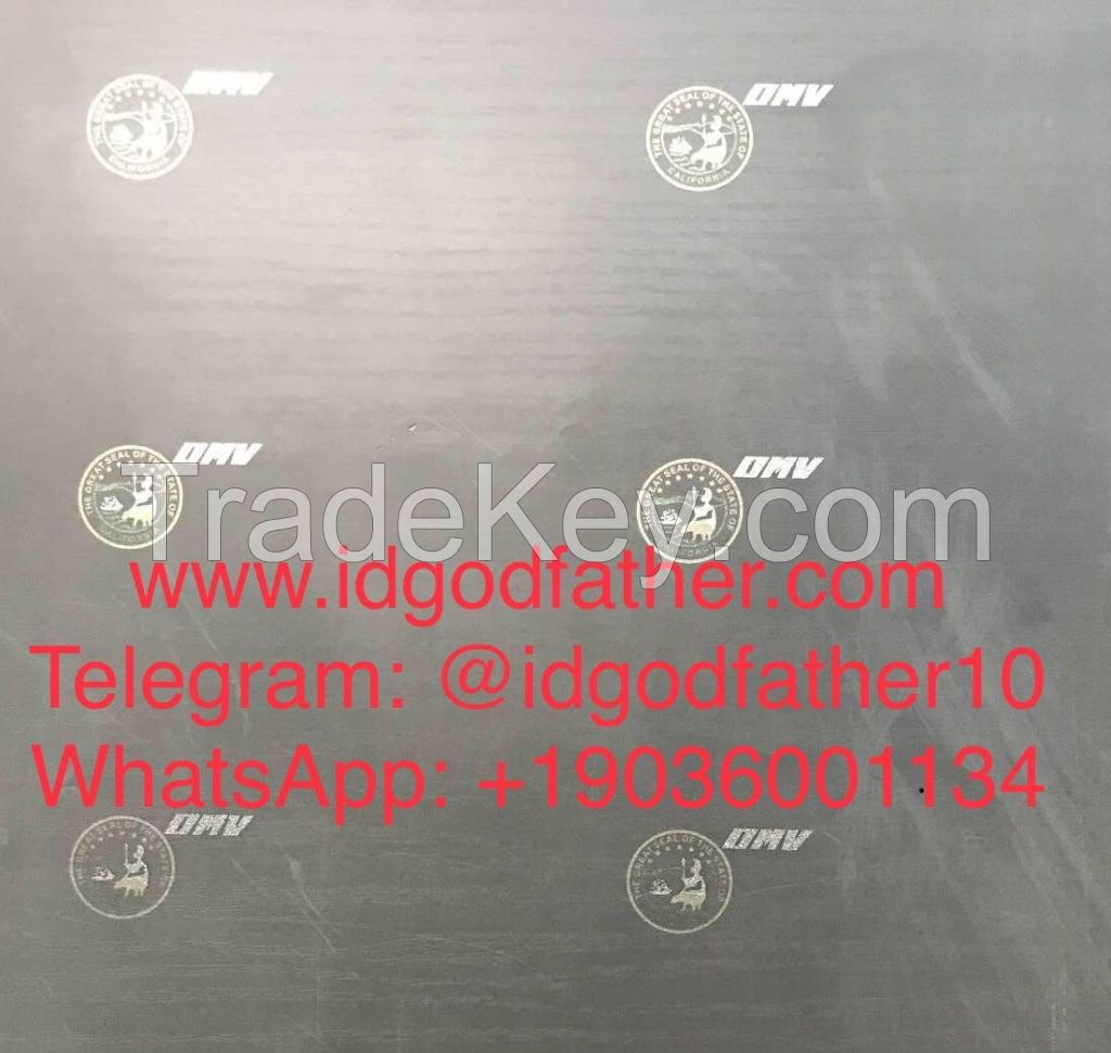 UV Hologram Overlay Sticker For ID Card Security