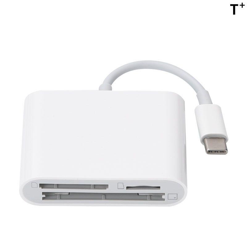 3 in 1 USB-C SD CF TF Memory Card Reader