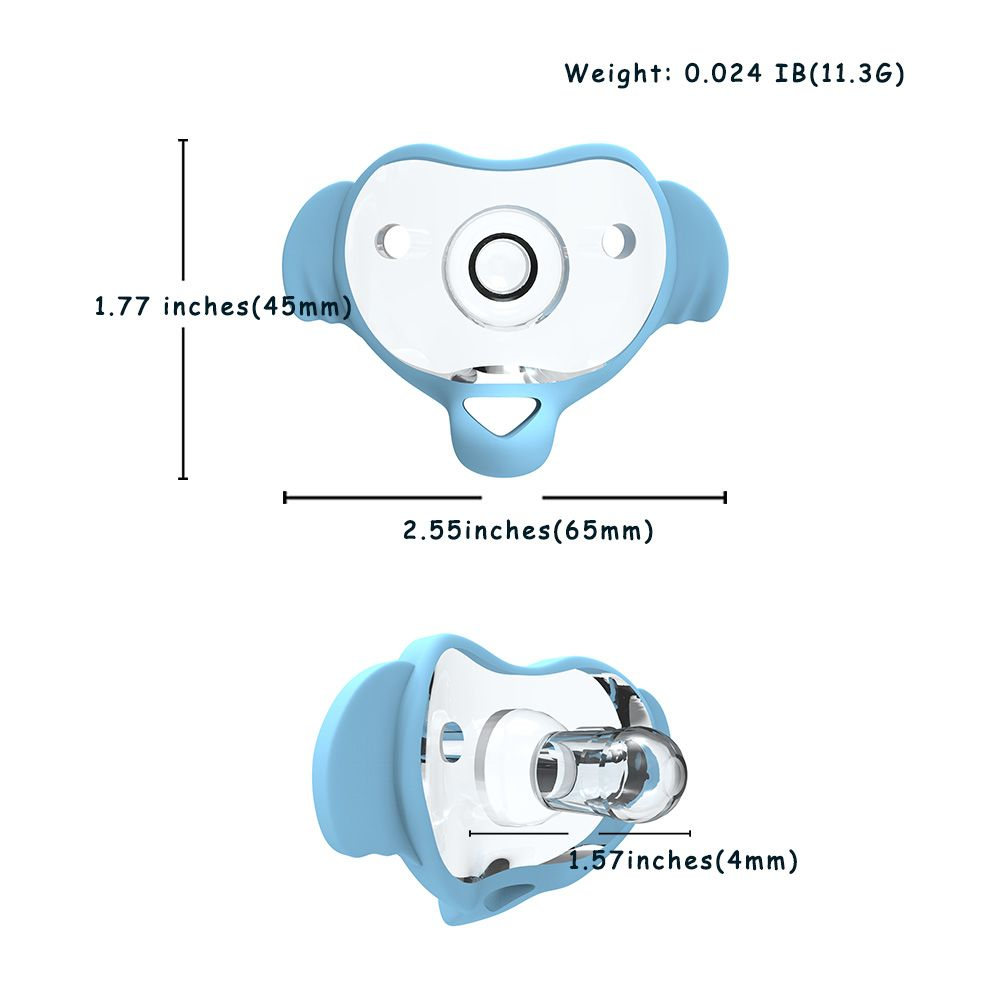 2020 New Pacifiers Elephant Shape BPA Free Baby Silicone Pacifier Baby Chew Toys