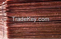 ELECTROLYTIC GRADE A CATHODE COPPER 99.99- 99.97%.