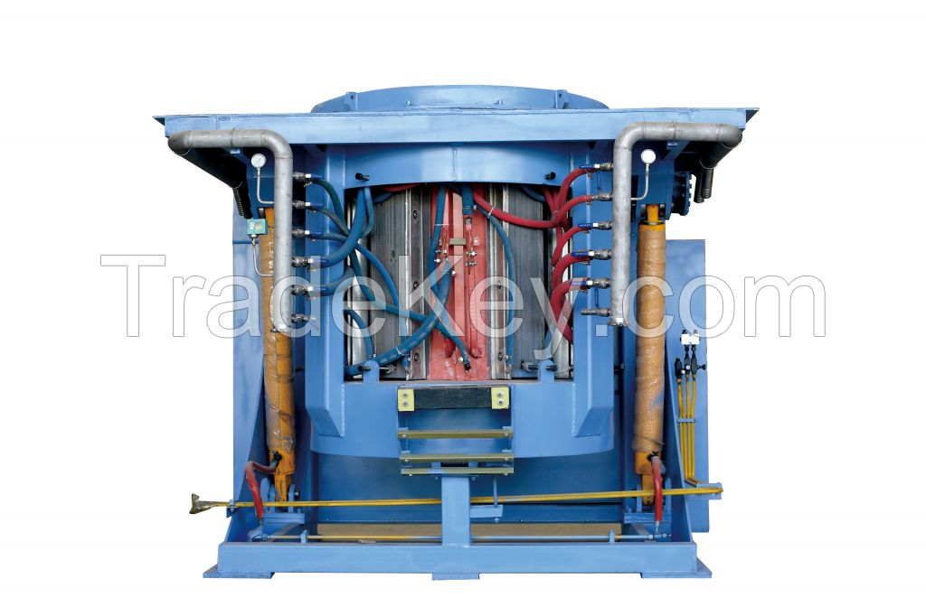 Steel Shell induction  furnace for Melting steel scrap