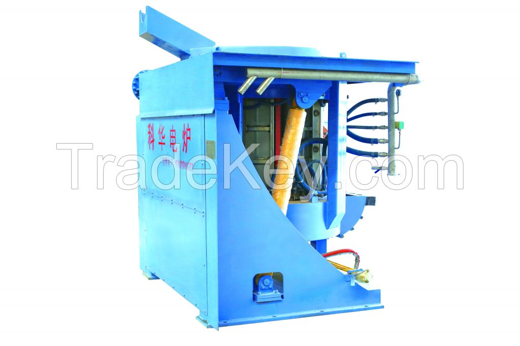 Induction Furnace for Melting Iron Scrap