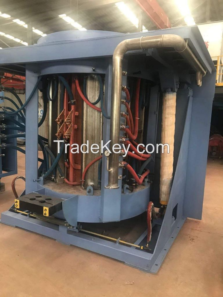 Steel Shell Induction Furnace  GW-1T-500KW/1S