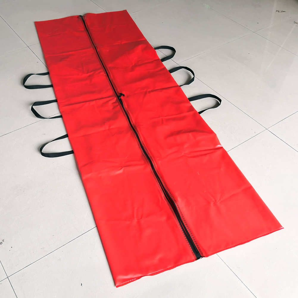 PVC Cadaver Body Bag with Airtight Zipper Leakproof Funeral Mortuary Corpse Bag for Dead Bodies