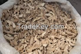 DRIED SPLIT GINGER FROM NIGERIA