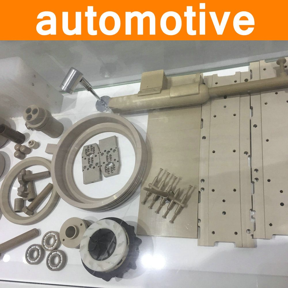 PEEK Parts in Auto Automotive Industry Part Polyetheretherketone Components Fittings virgin pure material