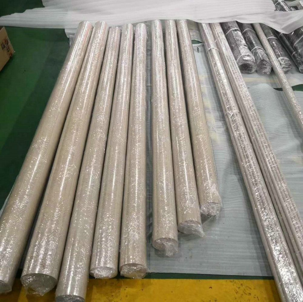PEEK Bar Rod Polyetheretherketone Round Bars Rods Wire Pure PEEK 450G High Performance Continuous Extrusion Profiles All Size