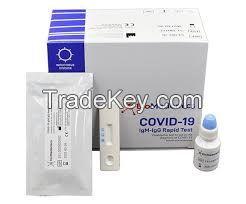 Coronavirus Test SARS-CoV2 IgG/IgM