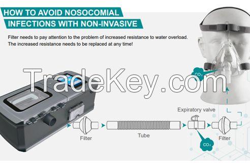 Ventilator bipap non-invasive automatic