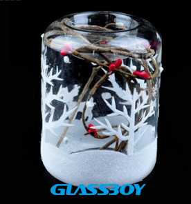 Wholesale Blown Decorative Pure Clear Transparent Votive Tealight Cand
