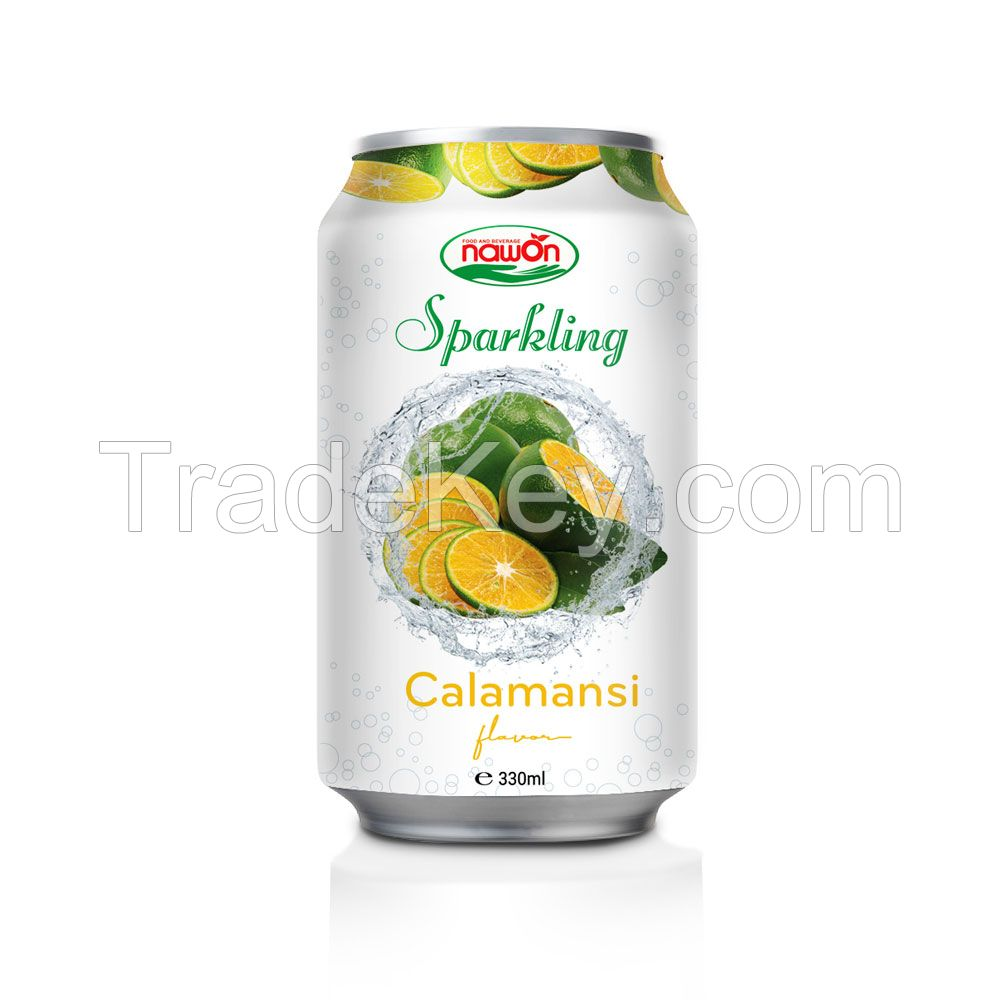 330ml sparkling water with Lychee flavor 24cans/carton Sugar-Free soft drink NAWON beverage