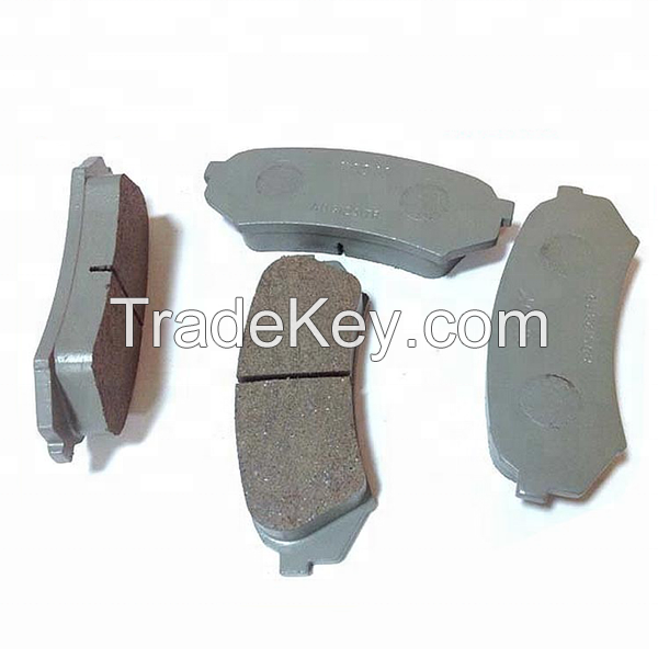 Guangzhou factory Japanese car auto spare part metal ceramic brake pads