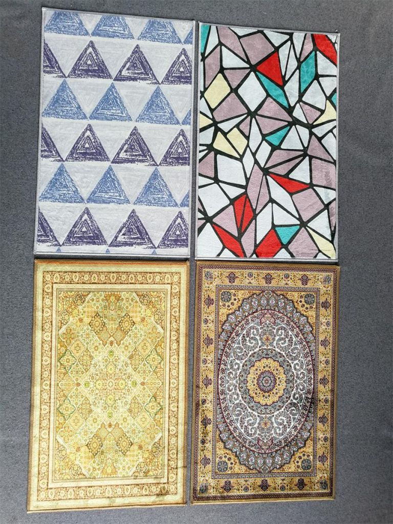 Hot Style Manufacturers Polyester Microfiber Decorative Area Carpet Rugs For Living Room