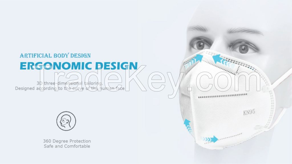 KN95 DISPOSABLE FACE MASKS