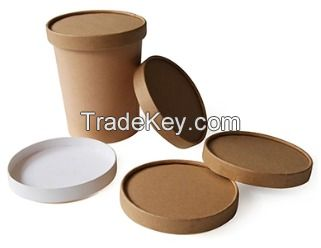 Automatic paper lid/cover machine