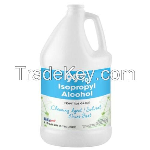 bulk Isopropanol /isopropyl alcohol 99.9% /67-63-0/IPA chemical Industrial Grade