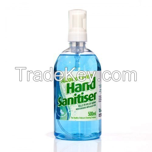 Disinfectant Hand sanitiser available