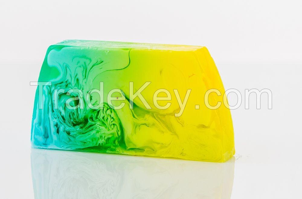 Handmade Soap Cosmetics Greenum OEM Colorful Block Soap