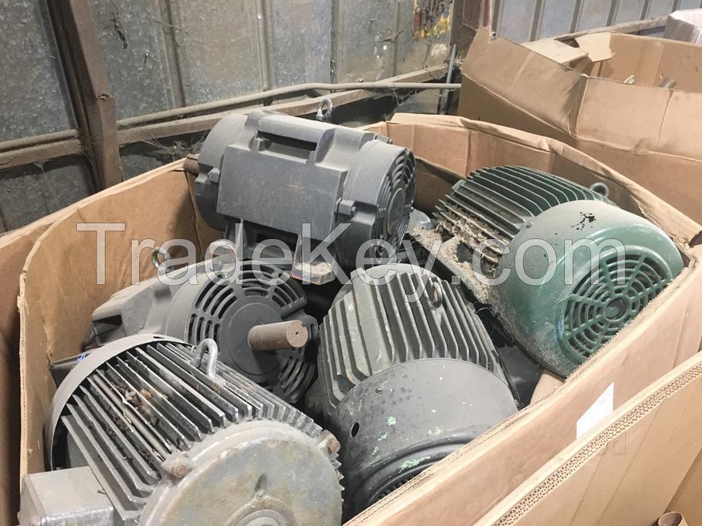 Used Electric motor scrap
