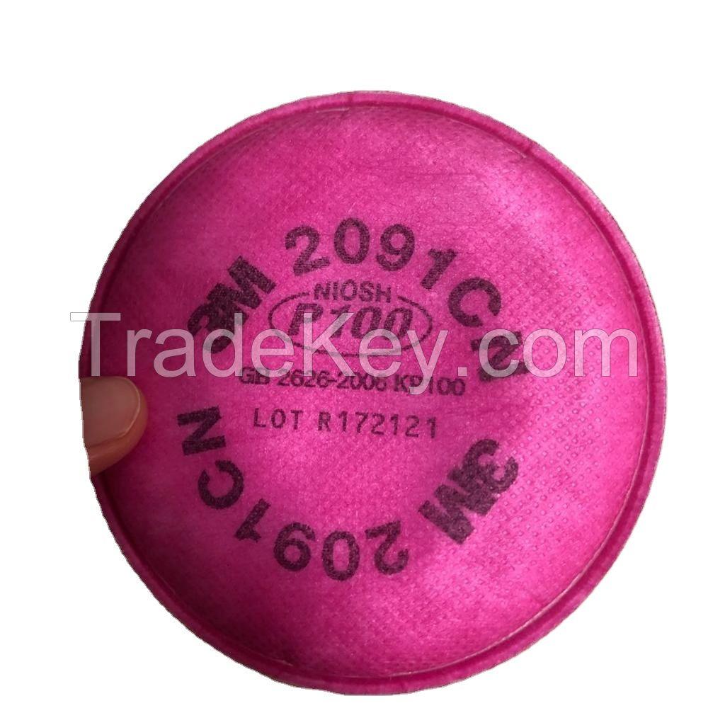 3M 6200 half face 7093CN P100 filter P100 NIOSH