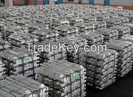 High Quality Aluminium Alloy Ingot Aluminium Ignot From Factory 99.7% 99.9%