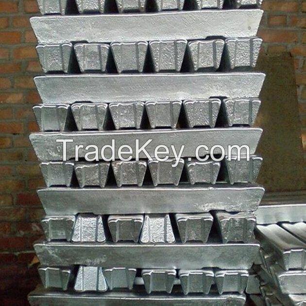 High Quality Aluminium Alloy Ingot 99.90%