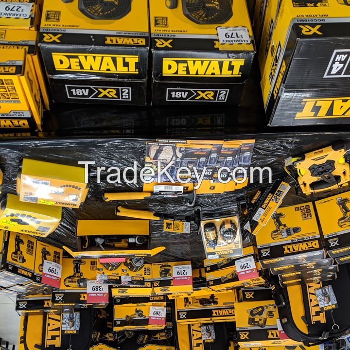WHOLESALES ! FOR THE NEW DeWalt 20-v Max 15-Tool Lithium Ion Cordless Combos Kits Doorstep Delivery