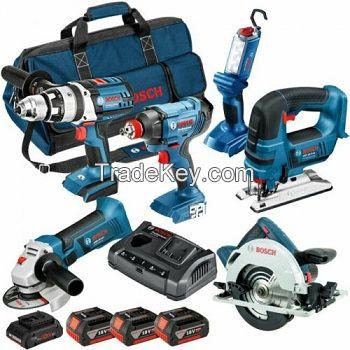 Power Tool 15Pcs Combo Kit 6.0Ah 20V Bosch