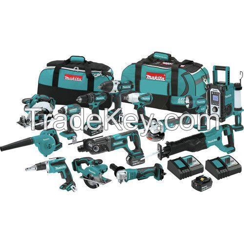 18V Power Tool Makita LXT1500 15PCs