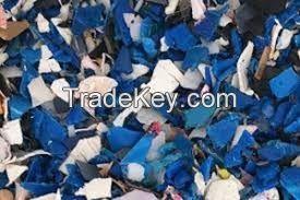 premium quality HDPE blue drum Bales scrap EU