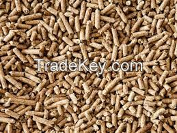Oak pellet 6mm Europe