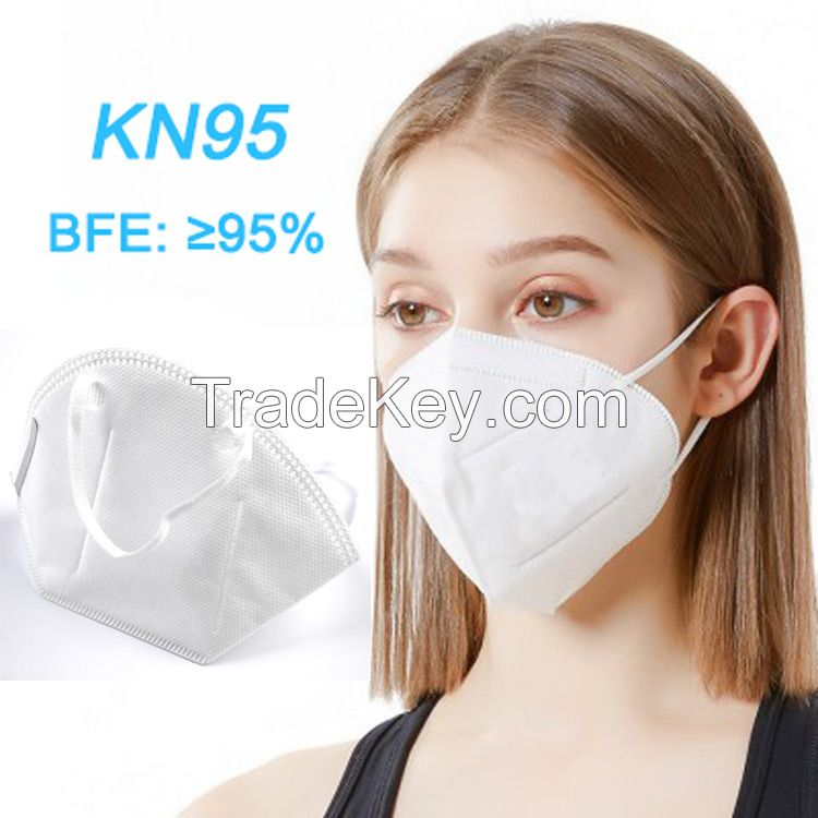 CHINA MANUFACTURER KN95 respirator pollution breathing mask, tapaboca KN95 anti pollution mask, respirator KN95 mask disposable
