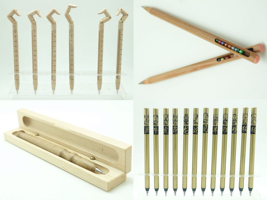 All kinds of pencils