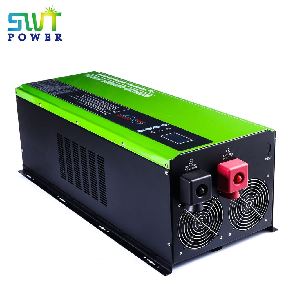 5000W Low Frequency Mppt Split Phase Hybrid Solar Inverter 120v 240v