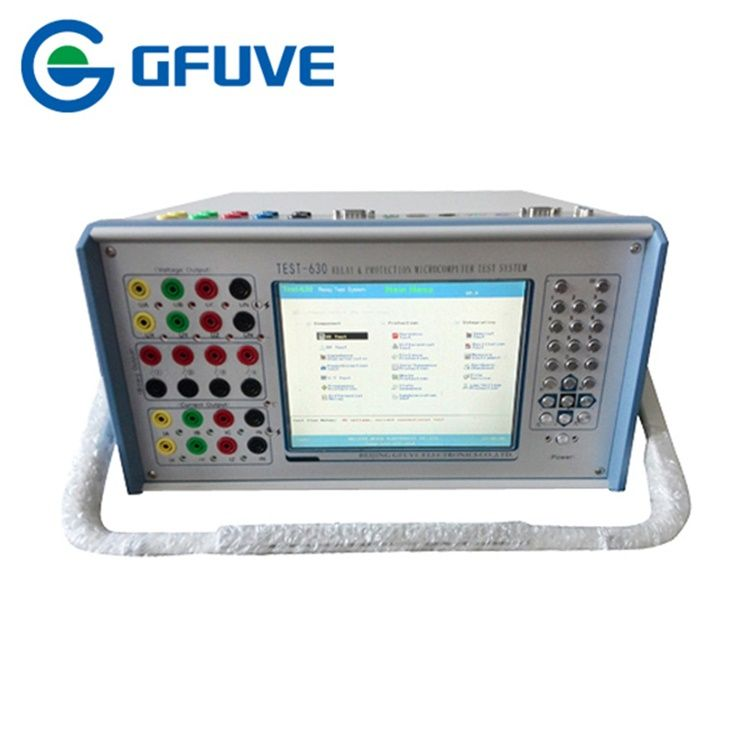 High Quality Scondary Current Injection Tester GFUVE Test-630 Relay Tester