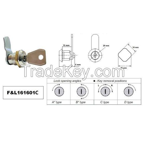 EURO-ZMKA 834 cam lock