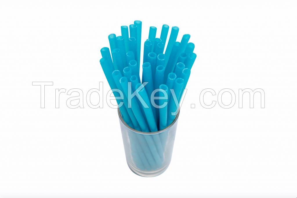 Biodegradable Eco-friendly Edible Rice Straws with Logo Customization