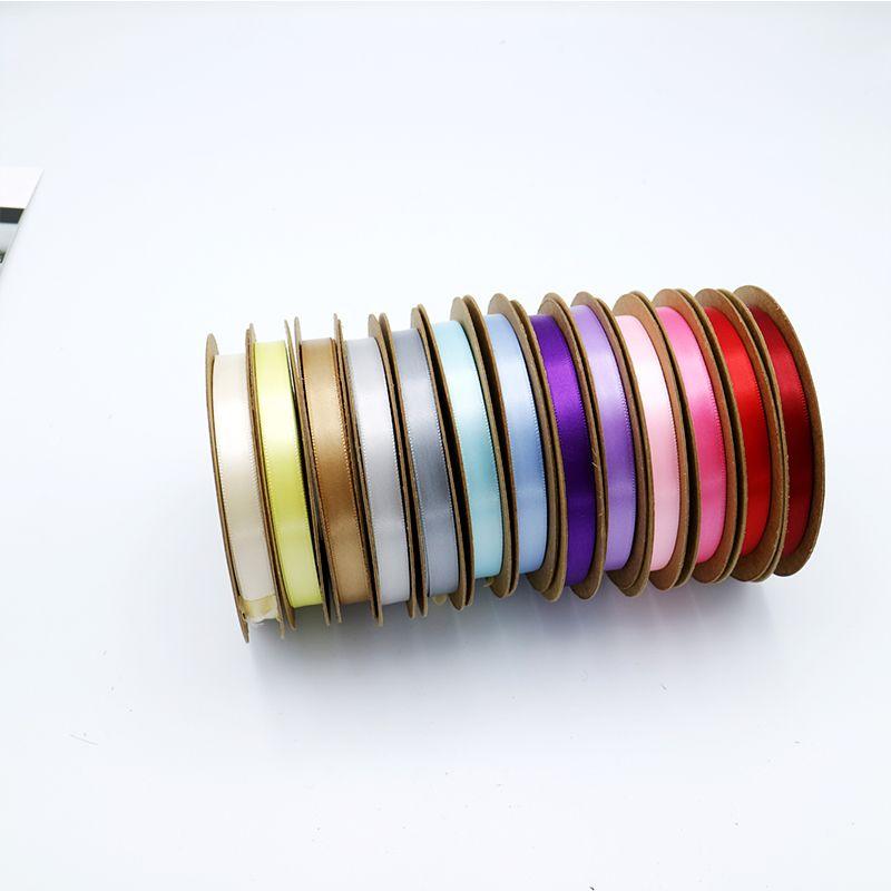 12mm single face satin ribbon