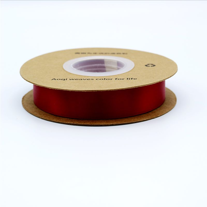 19mm Single Face satin ribbon