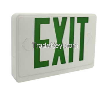 emergency lights with UL certificate exit sign
