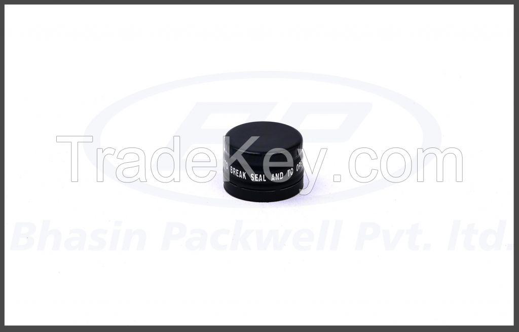 22mm Aluminum Pilfer Proof Cap