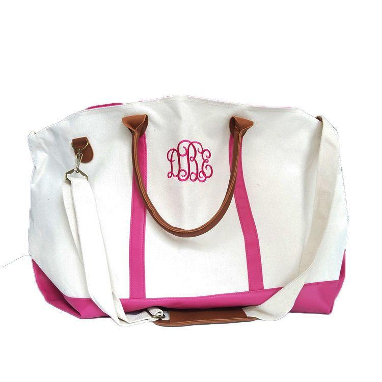 Canvas Duffle Bag Travel Weekend Bag