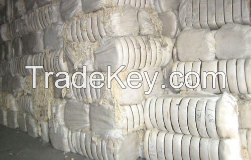 COTTON WASTE, COTTON YARN, FABRIC, ETC