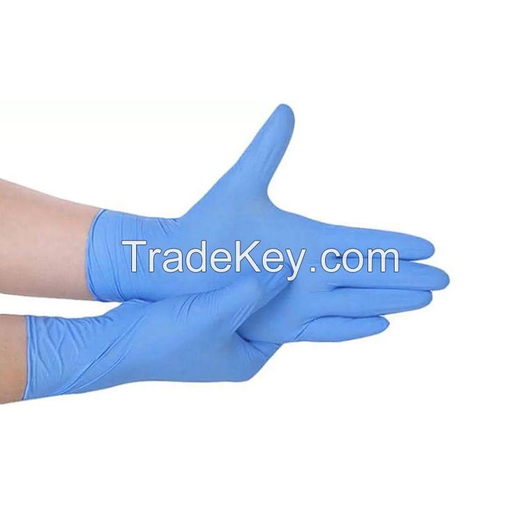 Disposable powder free vinyl gloves working glove