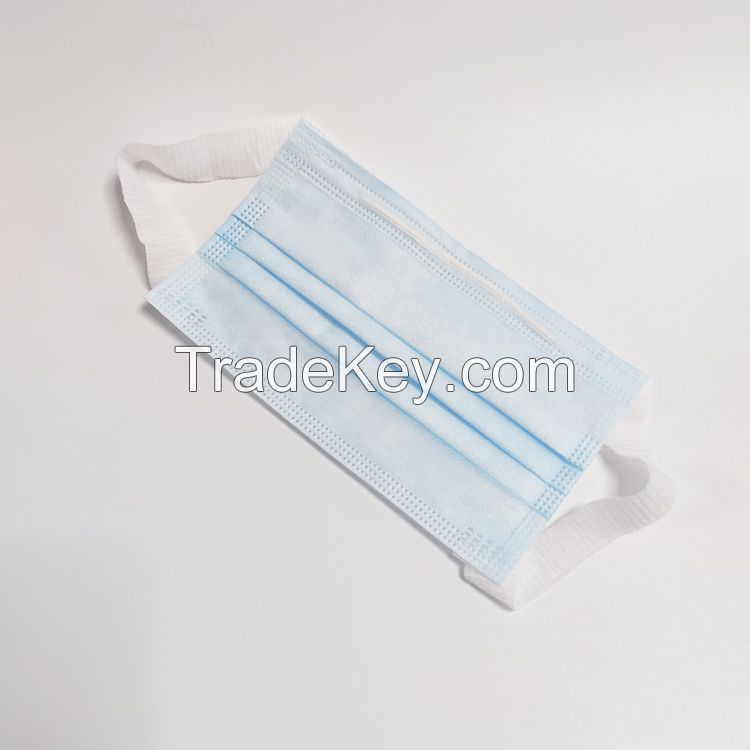 3ply Disposable Mask with Melt-blown fabric