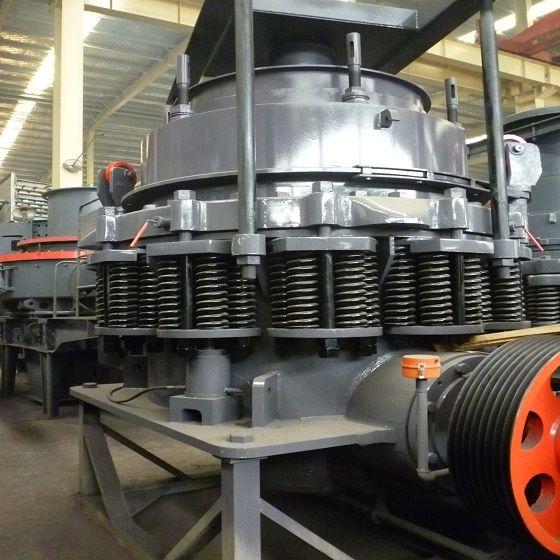 Spring Cone Crusher  stone crusher equipment
